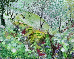Green Landscape Paintings