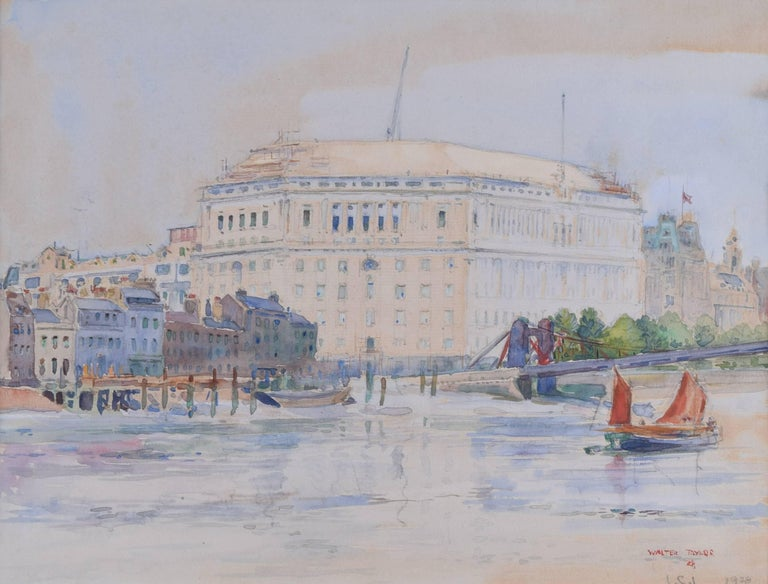 walter taylor walter taylor thames house lambeth bridge london
