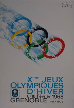 Jean Brian Xth Jeux Olympiques d'Hiver/1968 Winter Olympics Grenoble France