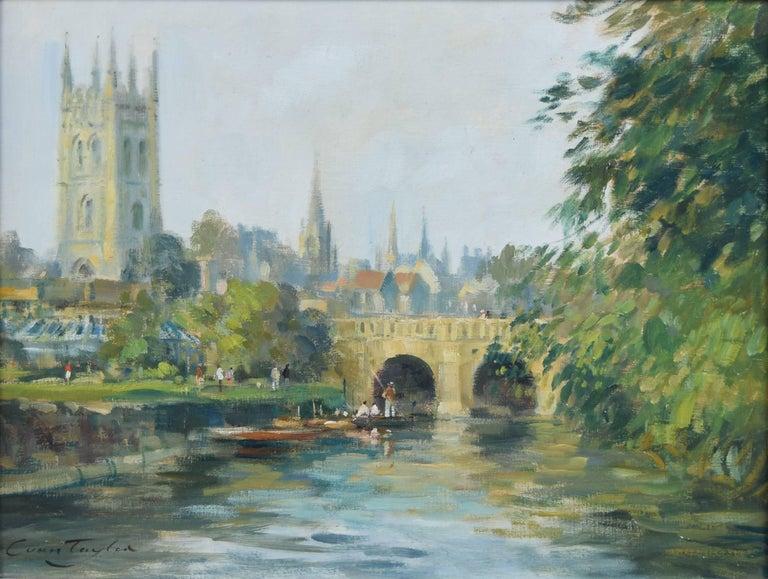 Ivan Taylor Ivan Taylor Magdalen Bridge Oxford Oil On
