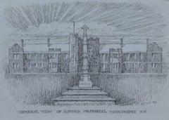 Reginald Hallward: c. 1919 Design for War Memorial Monument, London, England