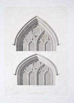 1804 Etching St George's Chapel Windsor Castle Prince Harry Megan Markle wedding