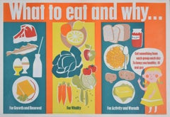What to Eat and Why Original Poster for UK Public Information