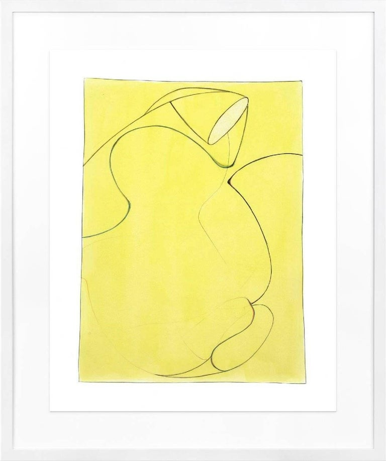 Guy Dill, Chianti Pop Yellow - Minimalist