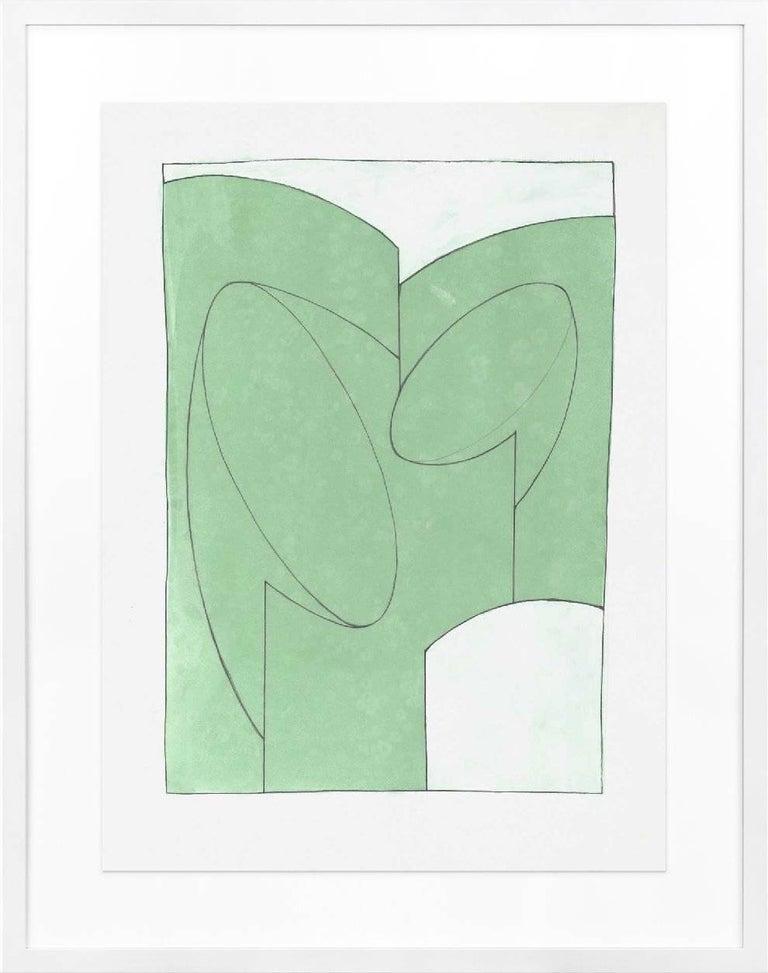 Guy Dill, Chianti Pop Green - Minimalist