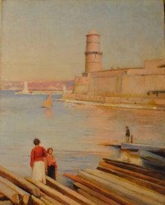 Ensoleillé matin au Phare de Marseille -  (Sunny Morning at the Lighthouse)