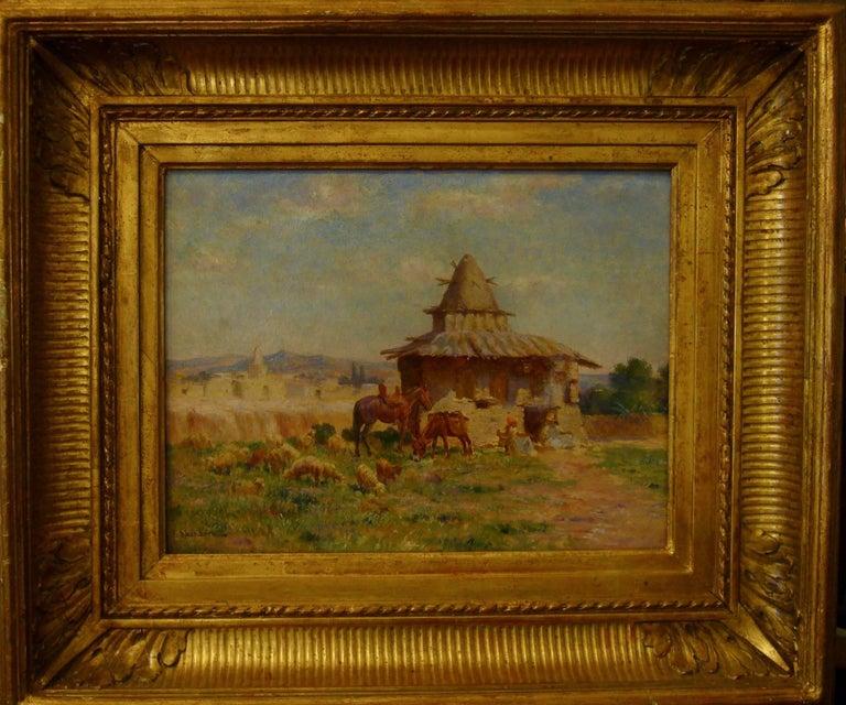 "Cabane de l'ermite algérien de M'Sila"" (Hut of Algerian Hermit of M'Sila) 2"