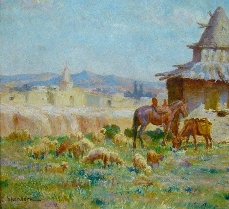 "Cabane de l'ermite algérien de M'Sila"" (Hut of Algerian Hermit of M'Sila) 3"