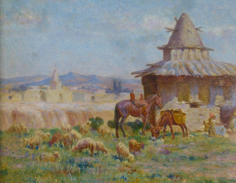 "Cabane de l'ermite algérien de M'Sila"" (Hut of Algerian Hermit of M'Sila) 8"
