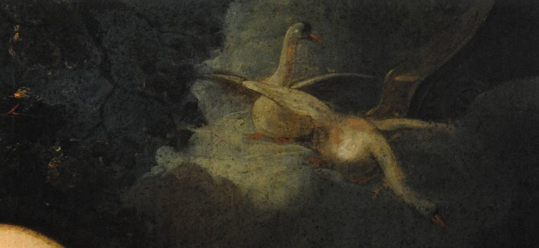 Lida et Cupidon en attentele cigneZeus(Lida & Cupid awaitingthe SwanZeus) For Sale 2