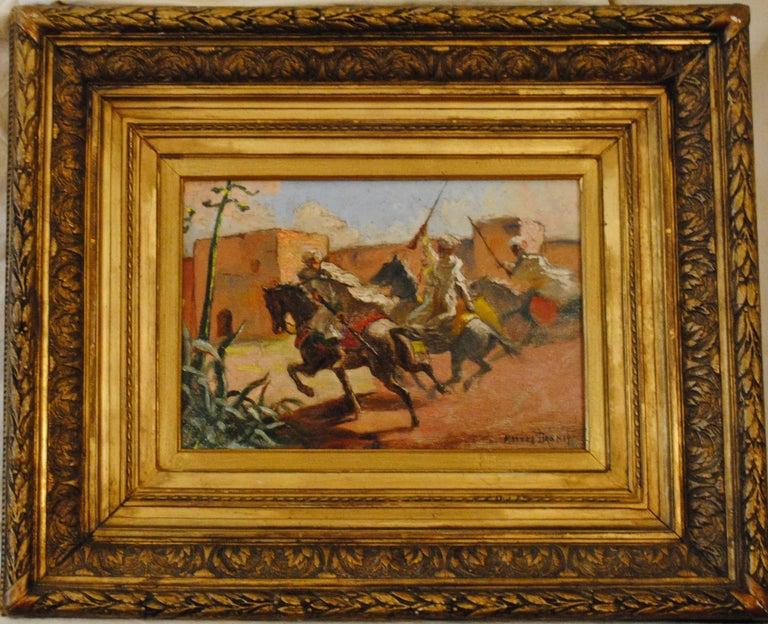 Cavaliers arabes aux murs de Marrakech (Arab Horsemen at the Walls of Marrakech) 2