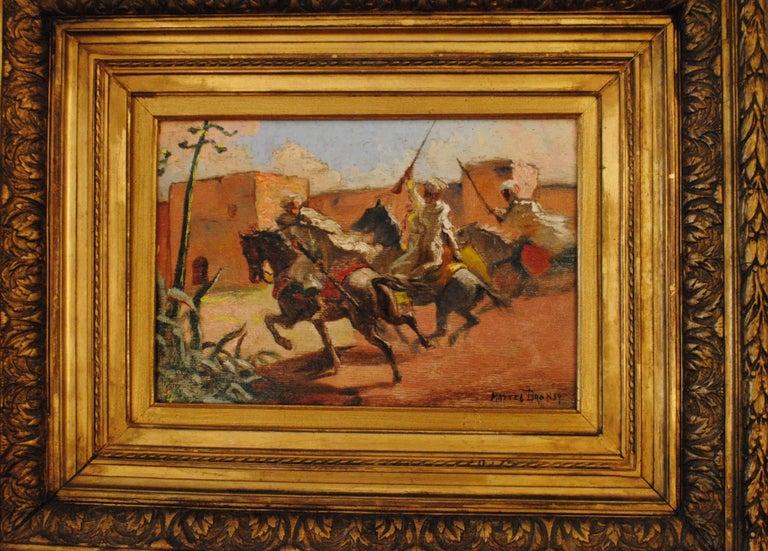 Cavaliers arabes aux murs de Marrakech (Arab Horsemen at the Walls of Marrakech) 3