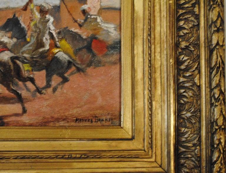 Cavaliers arabes aux murs de Marrakech (Arab Horsemen at the Walls of Marrakech) 4