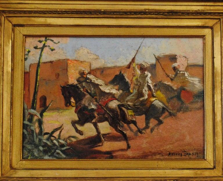 Cavaliers arabes aux murs de Marrakech (Arab Horsemen at the Walls of Marrakech) 6