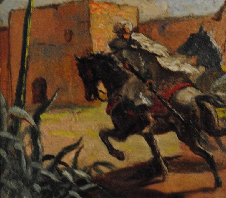 Cavaliers arabes aux murs de Marrakech (Arab Horsemen at the Walls of Marrakech) 9