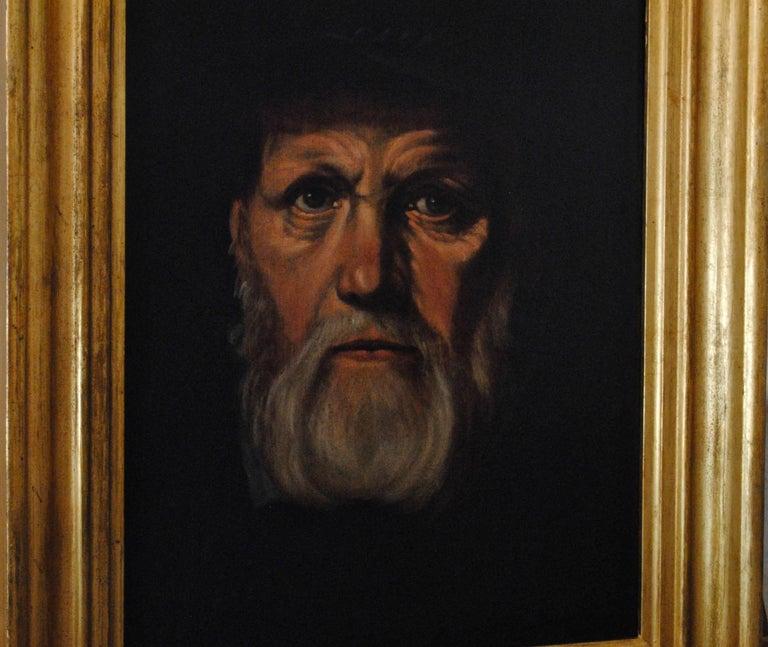 Portrait of Dirck Volckertsz Coornhert, circa 1603 For Sale 4