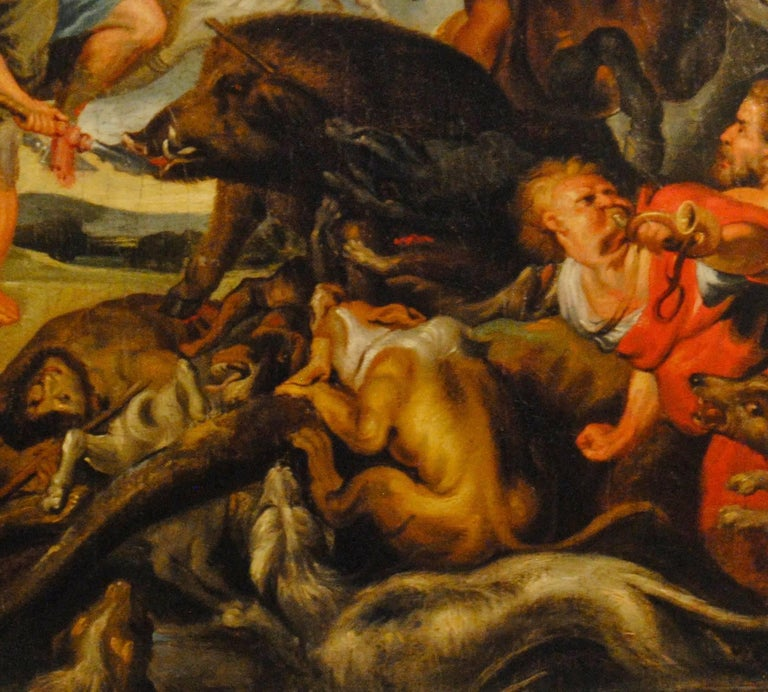 The Hunting of the Calydonian Boar  (The Hunt of Meleagros and Atalanta) For Sale 1