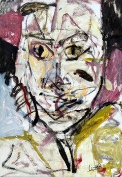 Kabuki Oil Painting