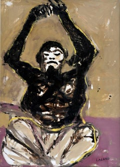 Shaman Oil Painting