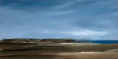 Pace, First Encounter on Eastham - Seascape Painting on Copper