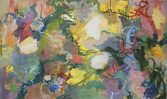 Scallops and Muscles; Abstract Oil Seascape