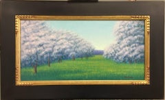 Apple Orchard, Oil Landscape Painting