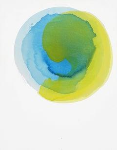 Deep Water - Sun Ripple, Acrylic Painting On Canvas