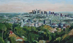 Mulholland View, Oil Painting On Canvas