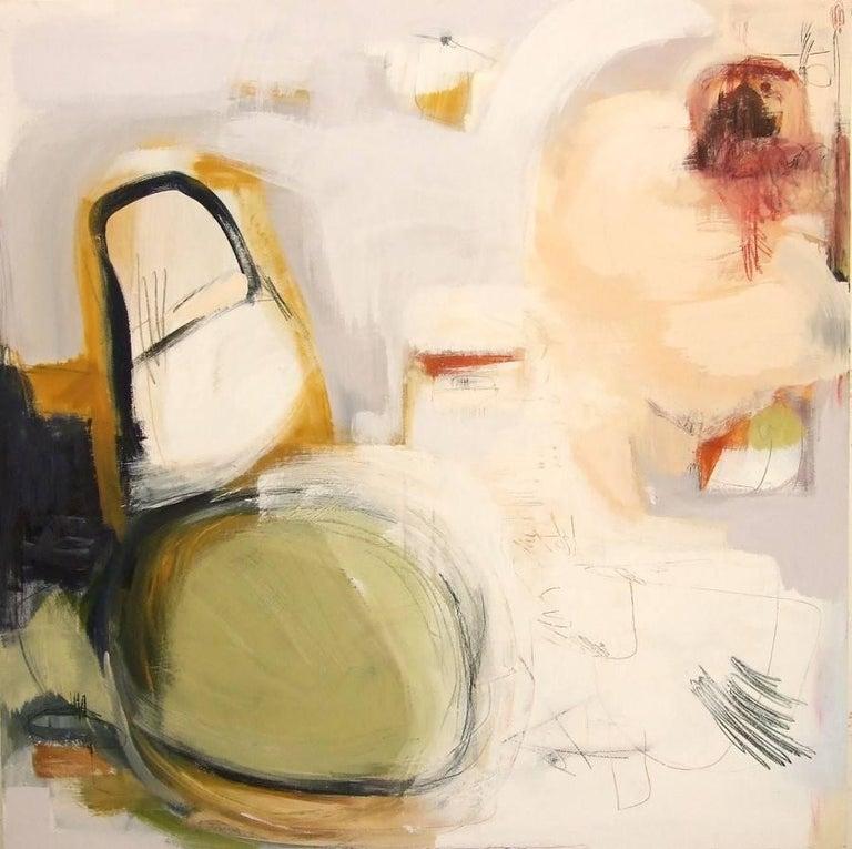 Thinking Boundless, Mixed Media on Canvas - Mixed Media Art by Andrea Rowbotham