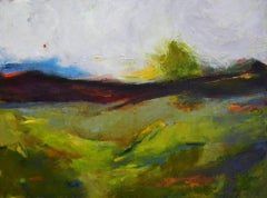 Mountain Foothills, Oil Painting on Canvas