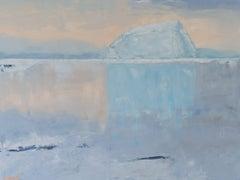 Iceberg, Ocean 55, Oil Painting on Canvas