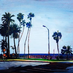 DeepRoots + Skybound, Ocean Ave, Oil Painting on Canvas