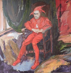 Stanczyk, Oil Painting
