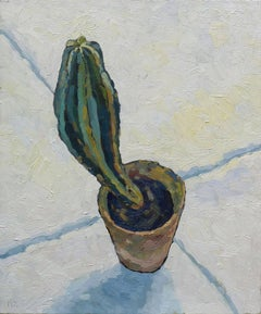Cactus, Oil Painting on Canvas