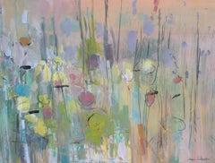 Buzz, Acrylic Painting on Canvas