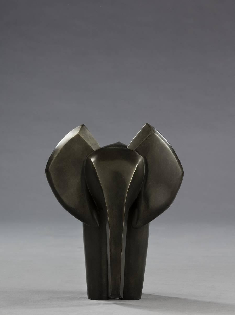 Valentin, Animal Bronze Sculpture (Elephant)