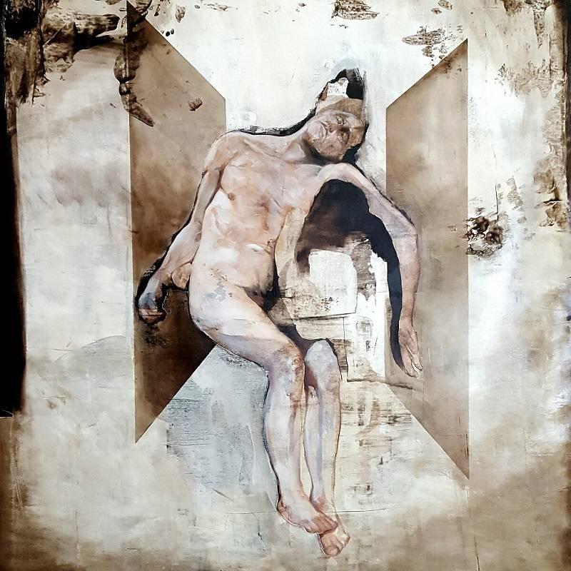 The Samaritan (contemporary religious themed painting)