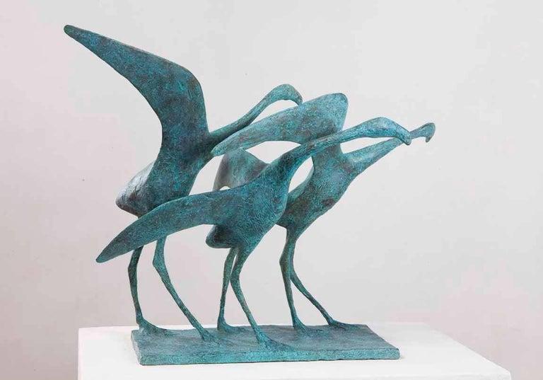 Pierre Yermia Figurative Sculpture - Envolée I (Take-Off I)