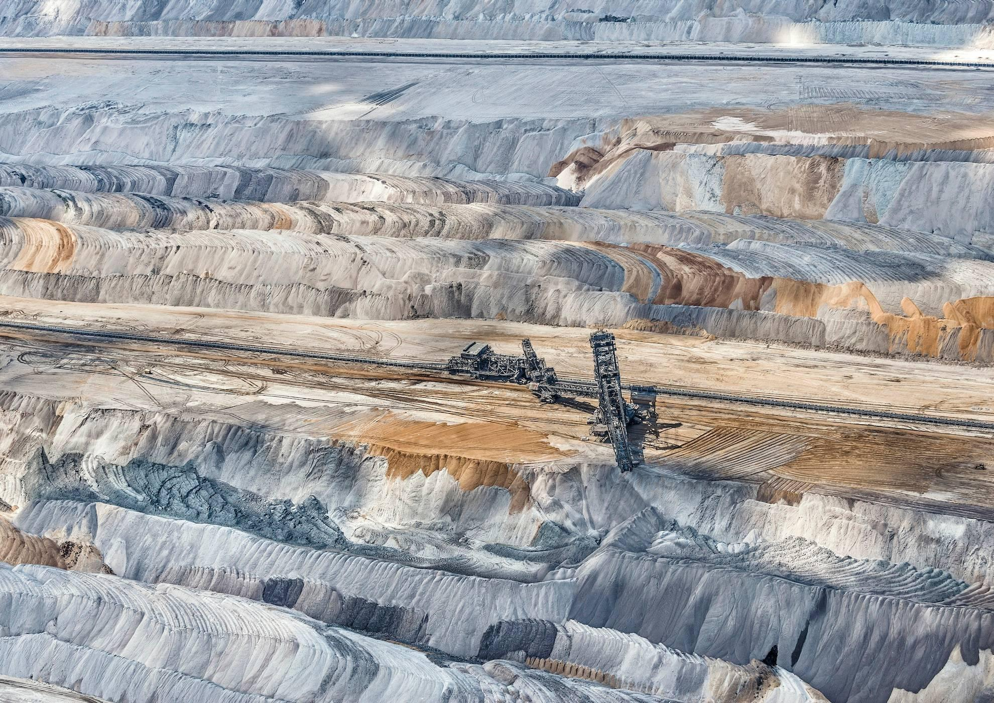Coal Mine 2 (Germany), Aerial abstract photography