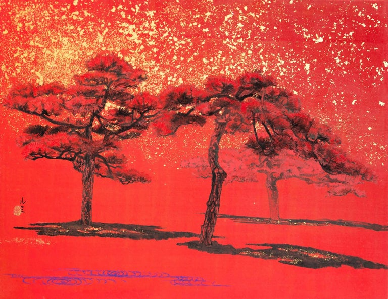 Lumi Mizutani Landscape Painting - Sunshine III