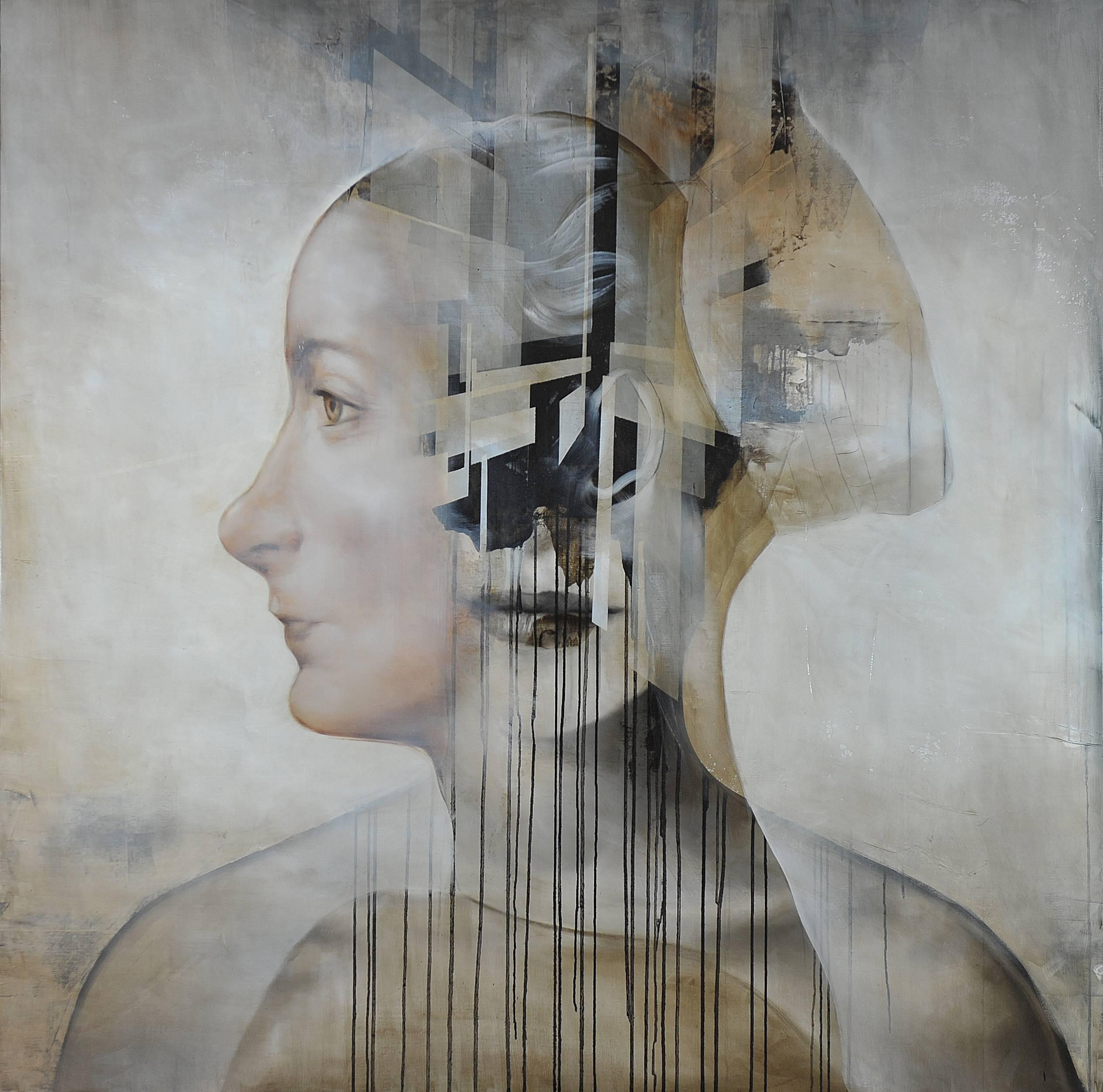 Strictures of conformity III, Contemporary Portrait Painting