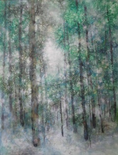 Instantané, Contemporary Nihonga Painting (Forest)