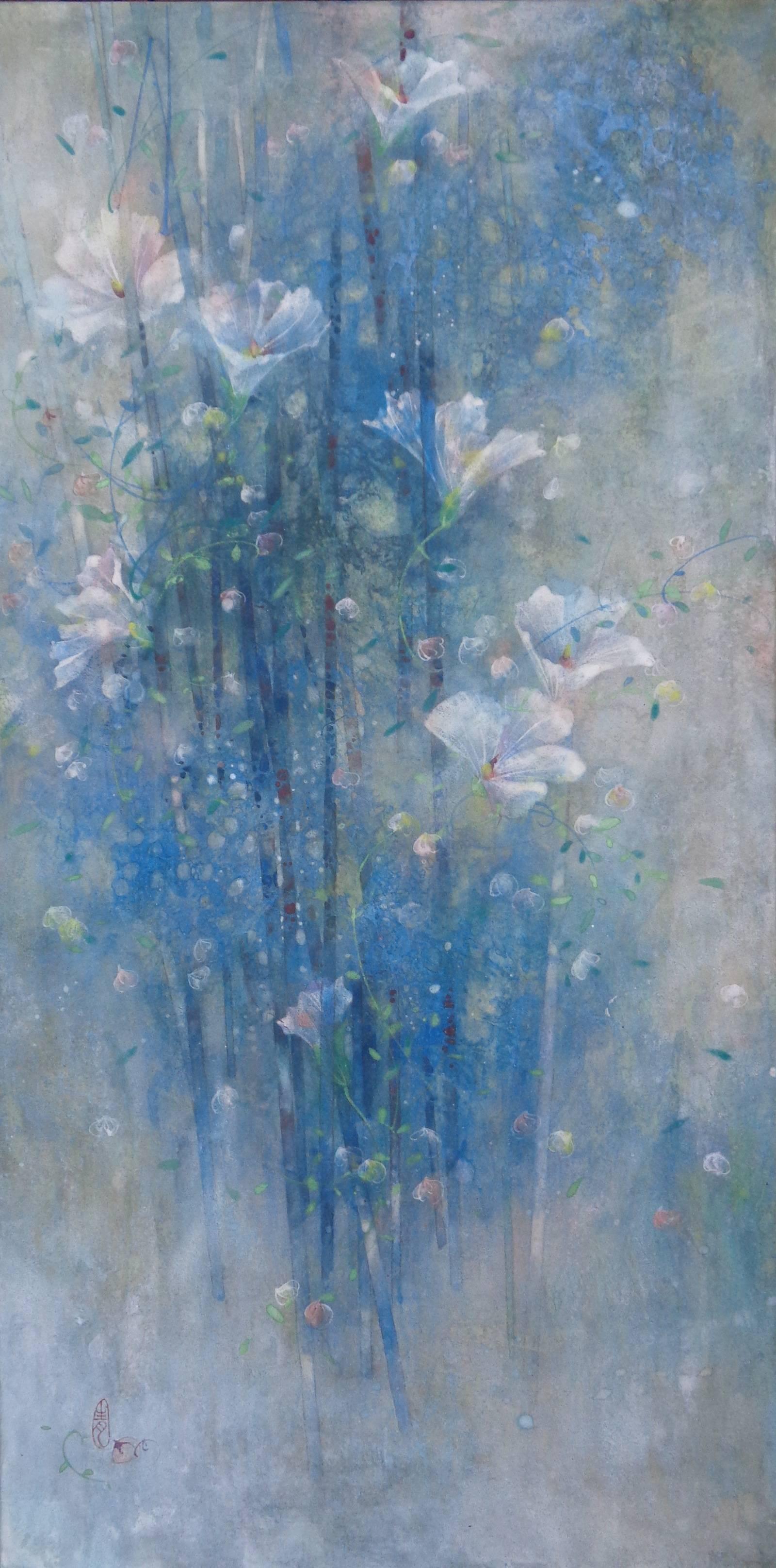 Joie (Joy), Contemporary Nihonga Painting