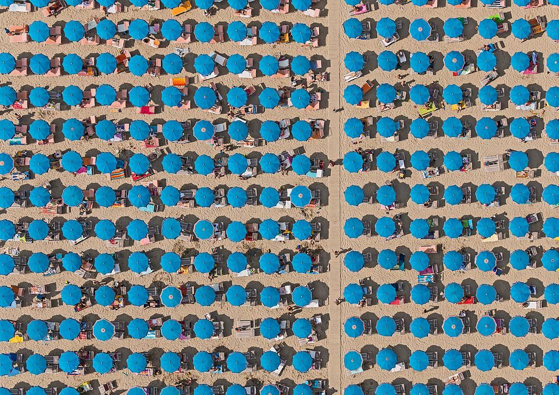 Adria 20 by Bernhard Lang - Aerial abstract photography, Italy's Adriatic Coast