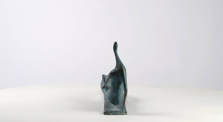 Lying Figure IV - Contemporary Bronze Sculpture For Sale 2