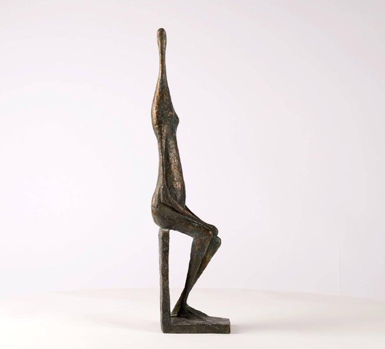 Seated Figure XII - Contemporary Bronze Sculpture 7