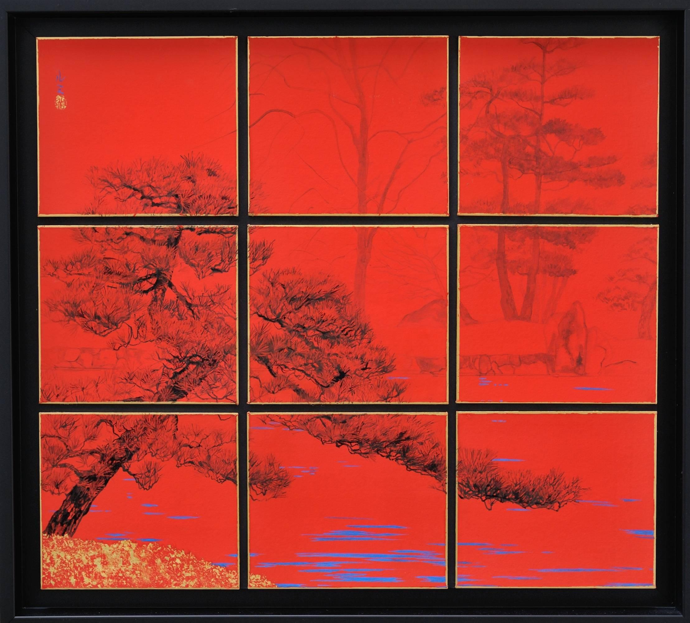 Tokugawaen, Japanese landscape painting