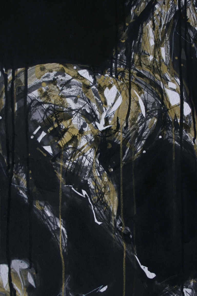 Nocturnal Melody 2 - Animal Painting (Horses) 4