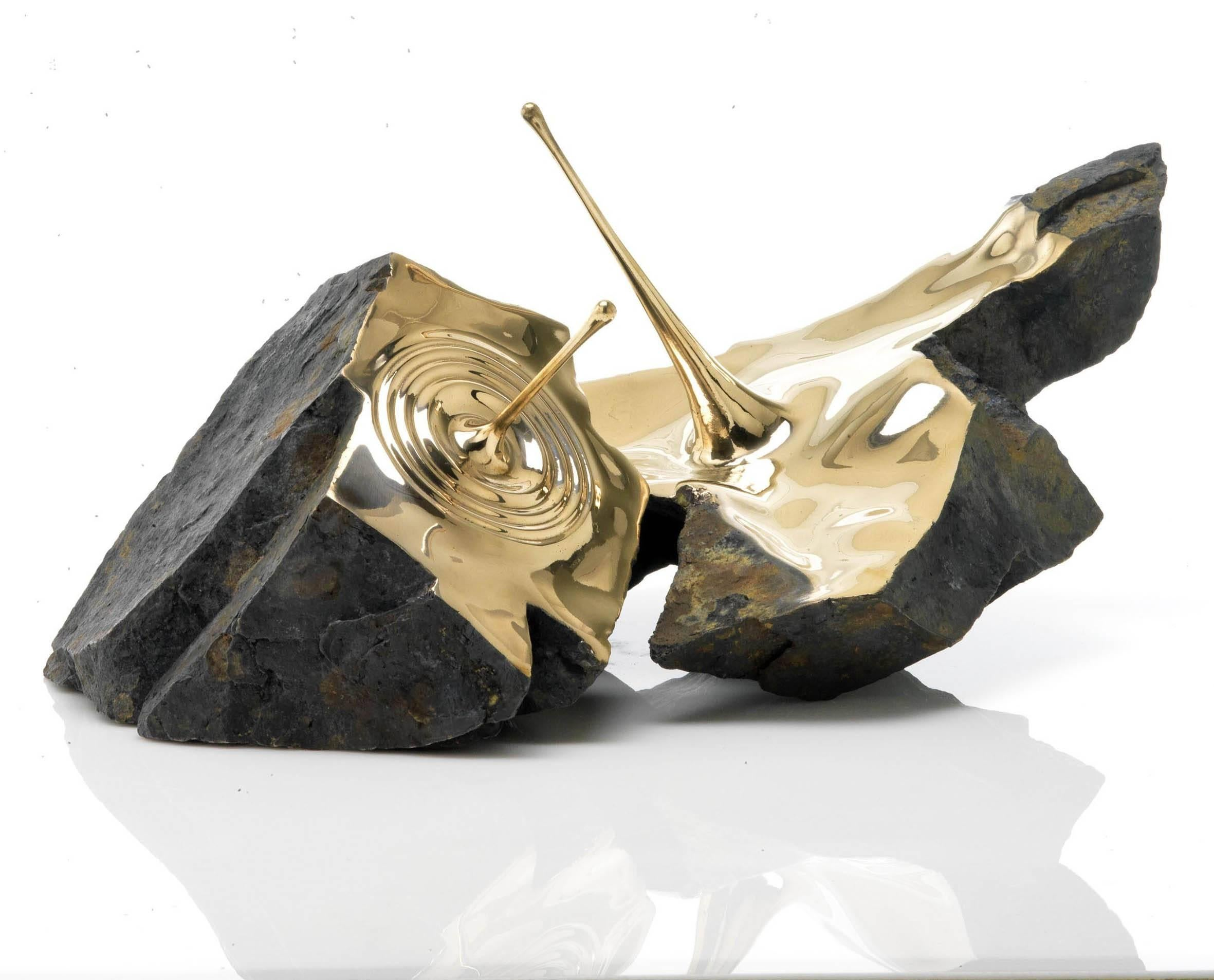 Resonance II - Contemporary bronze sculpture