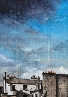 Storm on Paris - Urban Landscape Painting